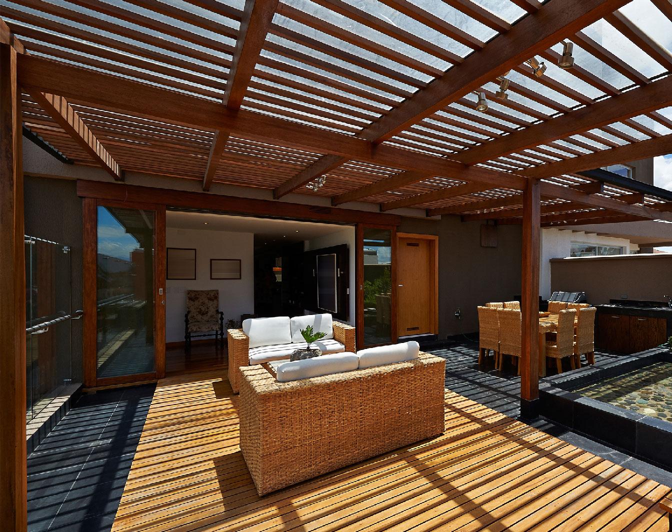 aménagement de terrasse en bois
